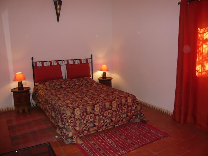 Chambre privée dans villa Sud Maroc