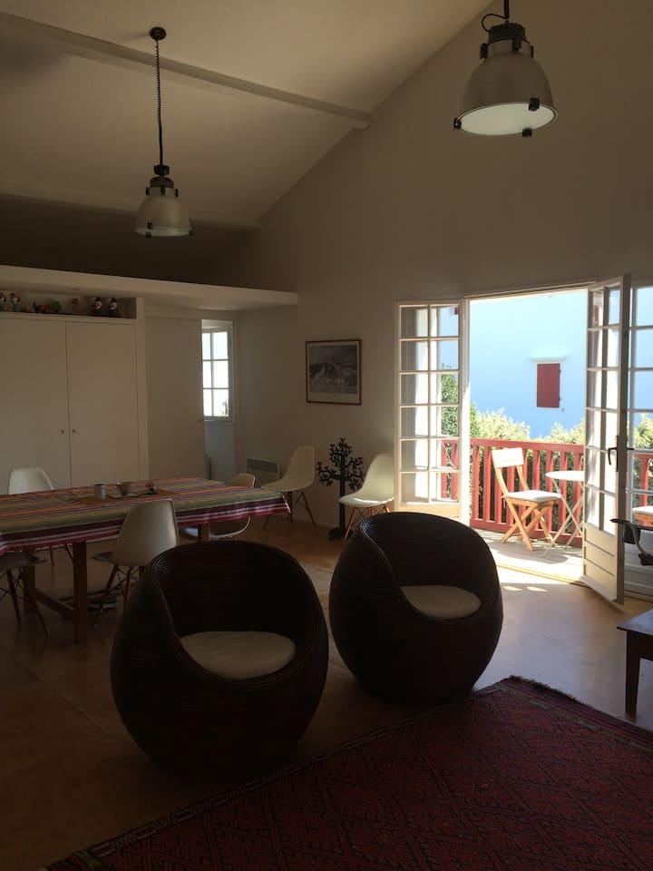 Magnifique T3 à Guéthary de 80 m2