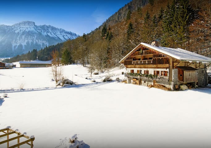 OVO NETWORK - Luxury La Clusaz apartment: pool, sauna, jacuzzi, wifi - Entremont