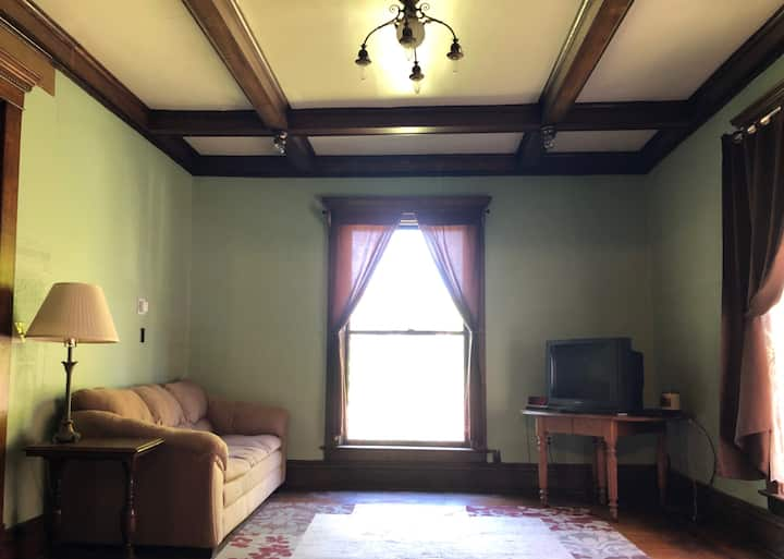Two bedroom apartment in historic home