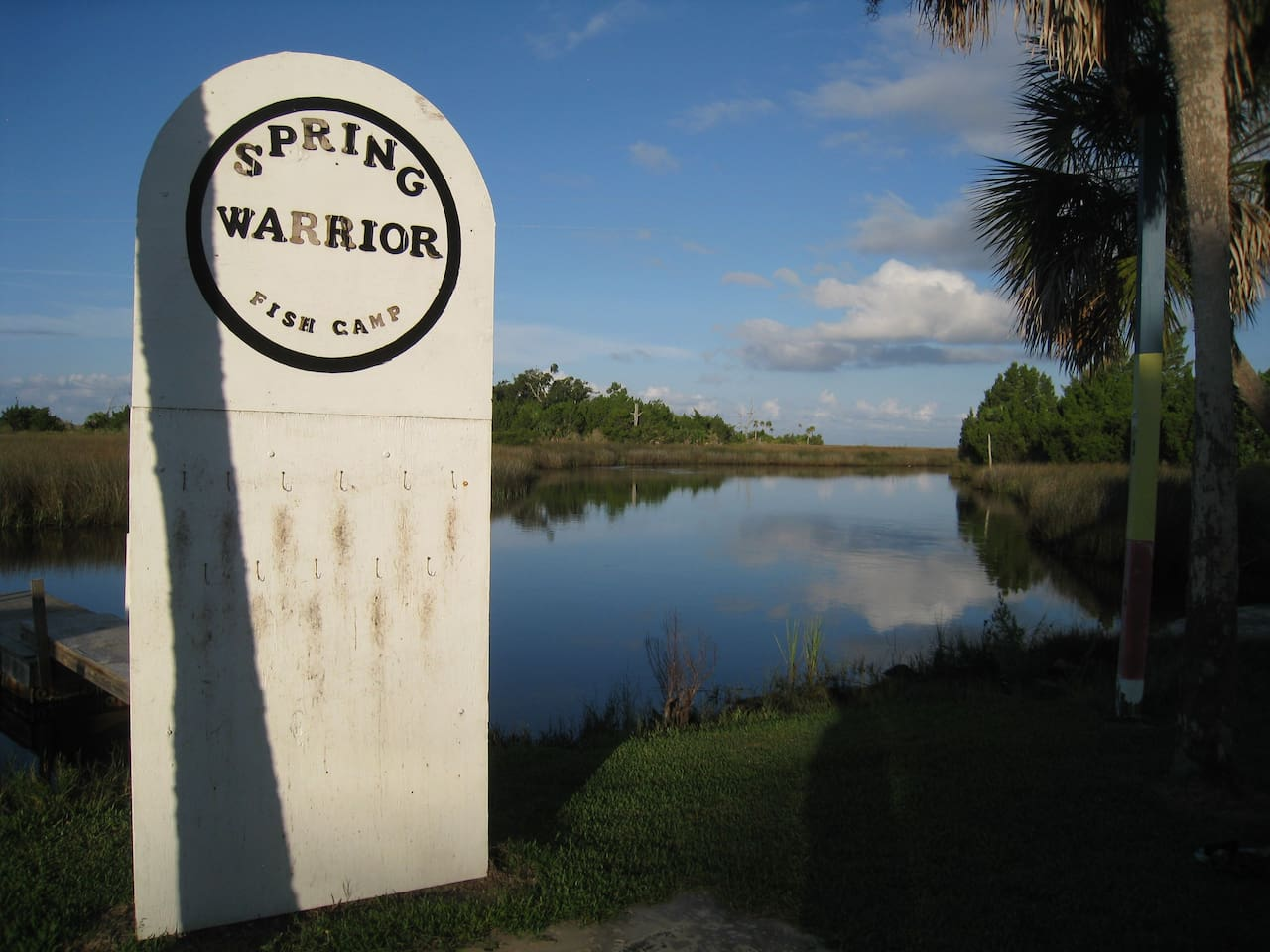 Spring warrior fish camp lodge houses for rent in perry for Spring warrior fish camp