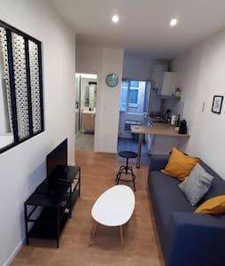 Petit appartement cosy  rénové  centre ville