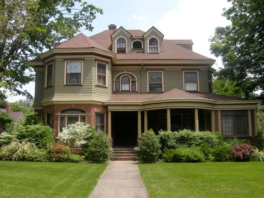 Your room is located in a beautiful historic home in the west end of Hartford
