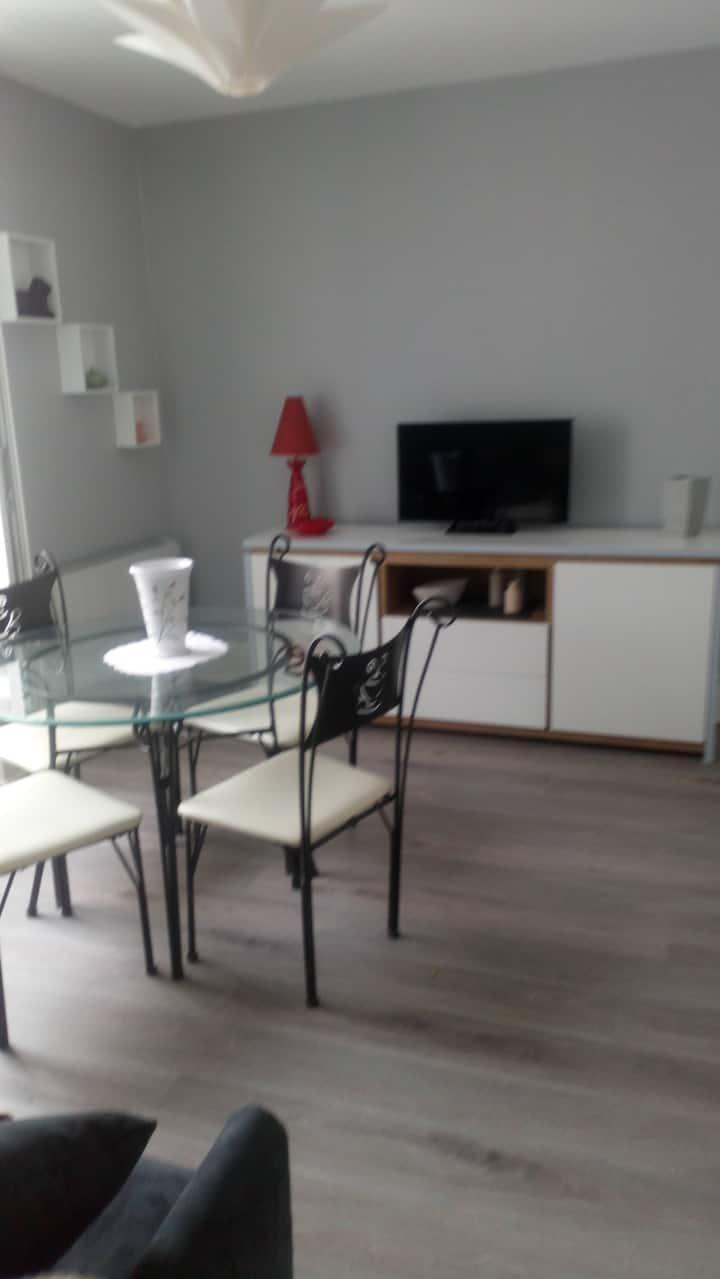 Bel appartement T2 de 34 m2 classé 3* à Vittel