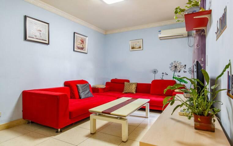 2 BDR , a cozy flat near MTR