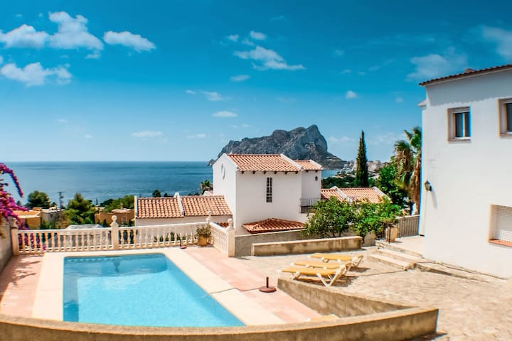 Kika - traditionally furnished detached villa with peaceful surroundings in Calpe