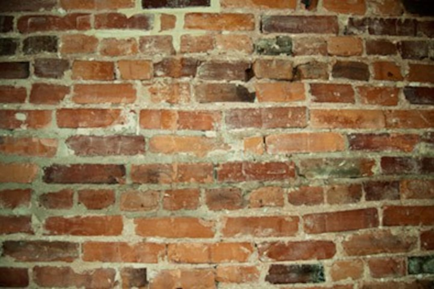 This is a photo of exposed brick.