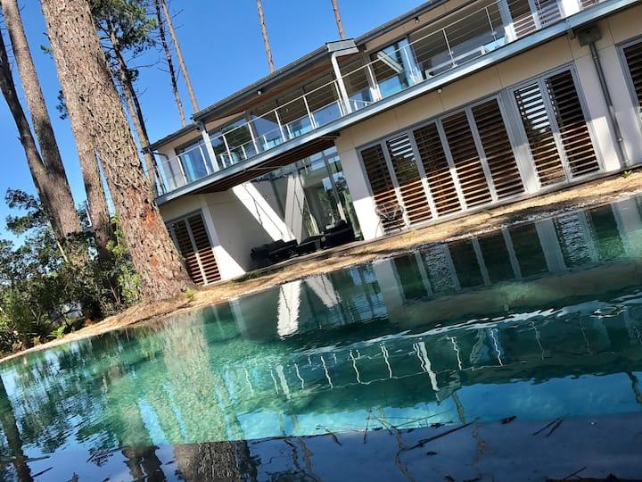 Villa au calme sur forêt avec piscine à Hossegor
