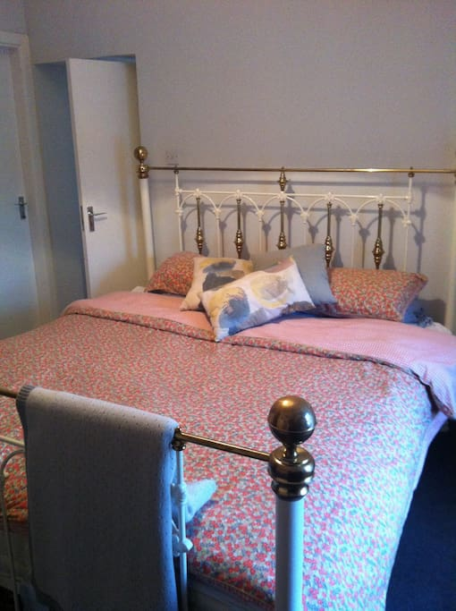 This is the main bedroom with a super king sized bed off which is my baby's room with a cot (photos to follow!)