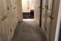 2nd Floor Master Suite Closet Area