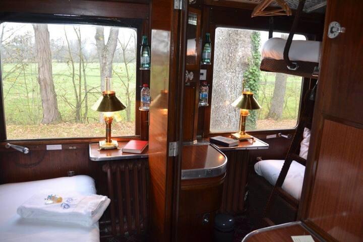 Cabines de l'Orient Express de 1948
