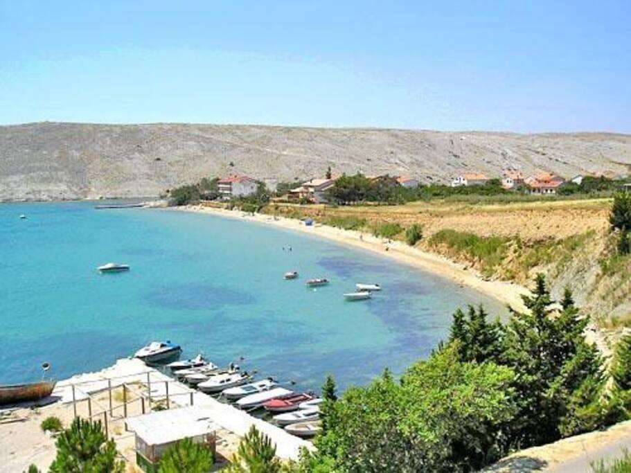 Vlasici beach Mela