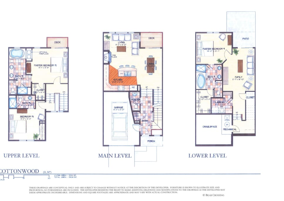 Floor plan layout. Actual layout is reversed. Furniture and finishes may vary.