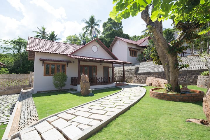 bungalow at the hill