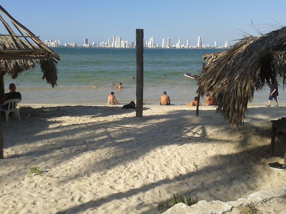 Tierra Bomba punta arena