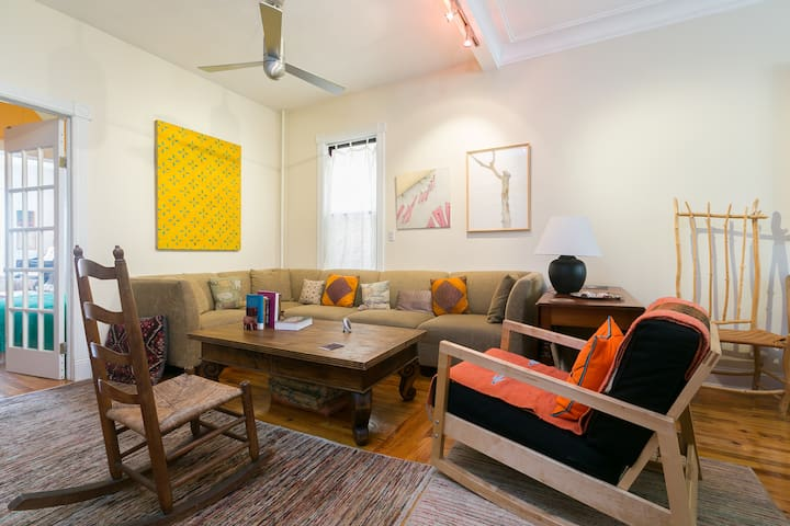 An Open and Peaceful Space Great for Families
