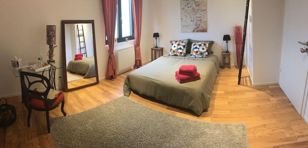 Chambres d'hôtes (4 à 6 per) à 20 mn de Strasbourg