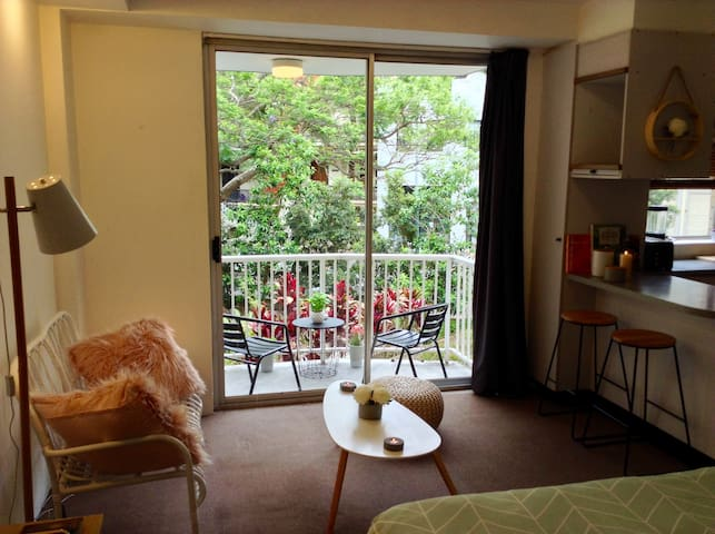 Perfect studio for visiting Sydney - Rushcutters Bay - Apartment