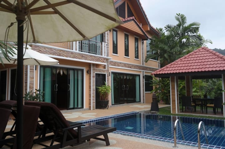 Bangtao 4 Bed-Pool-Close-Bch-kan 3 - Choeng Thale - Villa