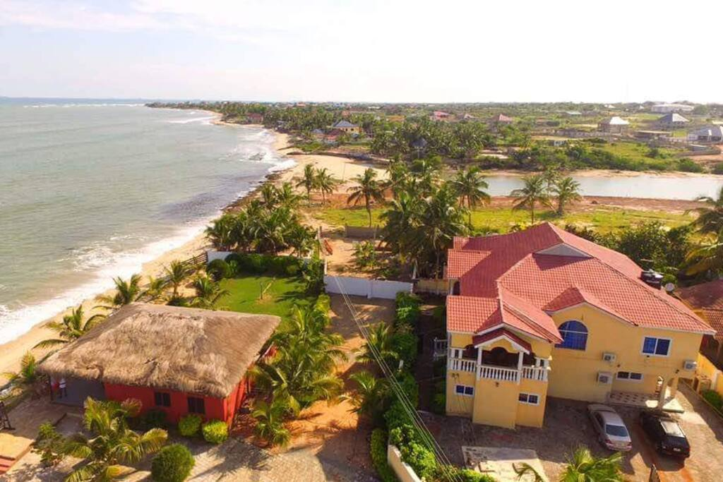Drone shot Coconut Pointe Villa