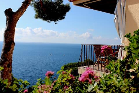 Muhteşem deniz manzarası Llafranc WIFI