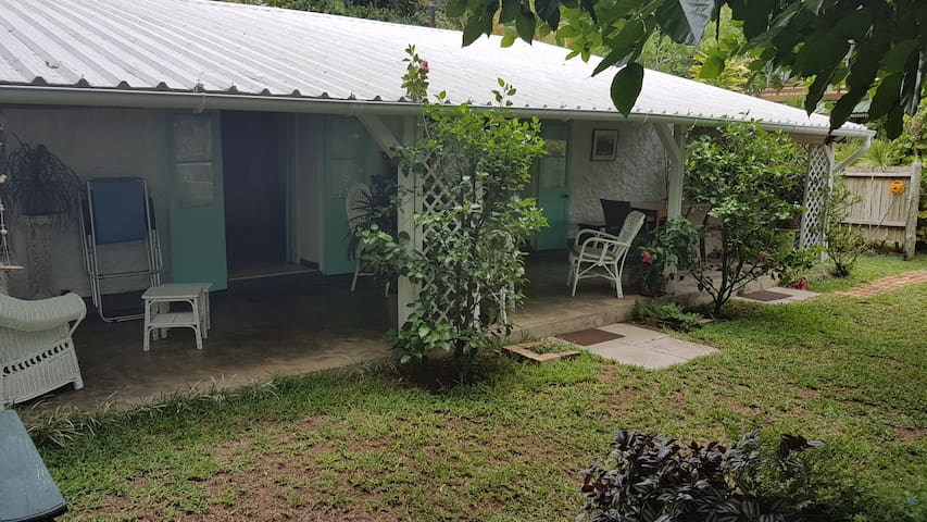 View of the veranda