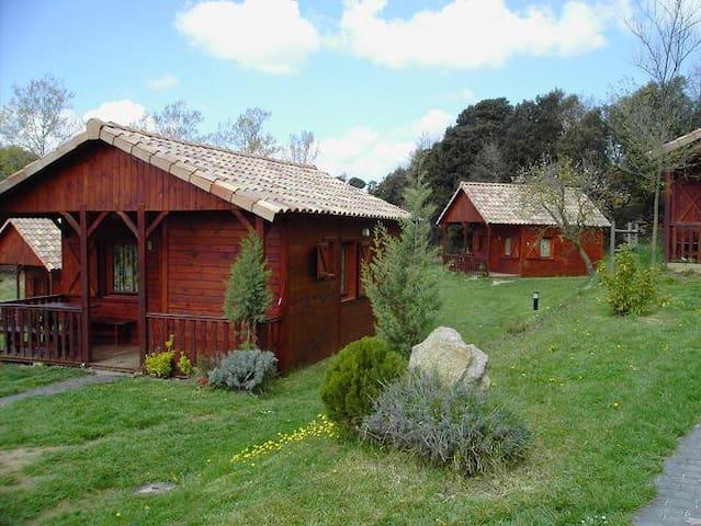 casitas de madera tipo bungalows