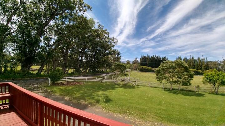 Peaceful, Private Ohana On Family Farm