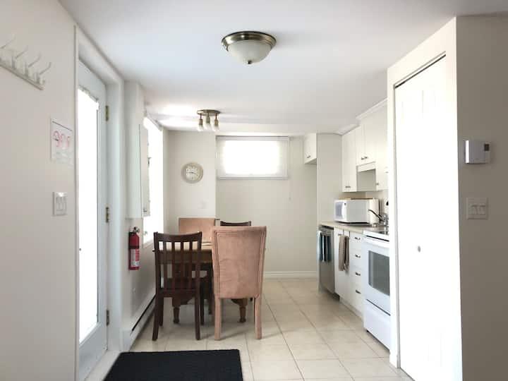 Appartement Propre Confortable près des services