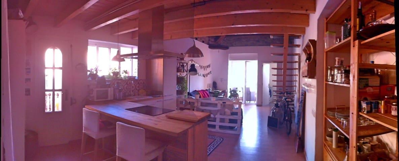 Romantic & cozy loft near Barcelona - Granollers - Podkroví