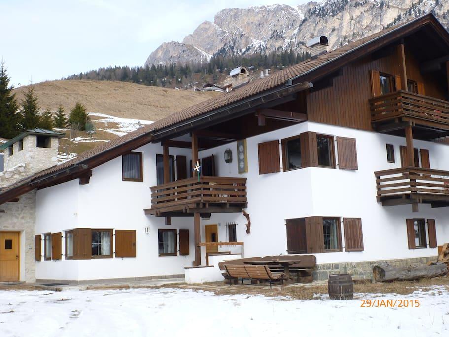 Casa appartamento 2 piani a selva con sauna fin for Piani casa degli ospiti