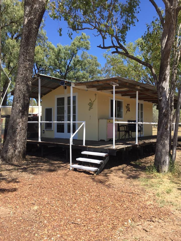 Our one bedroom self-contained cabin.