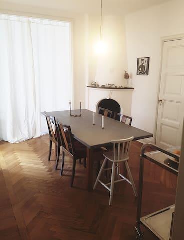 Lägenhet i centrala Göteborg med 2 katter