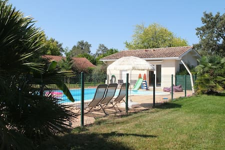 House with pool near Arcachon bay and Bordeaux - Le Barp