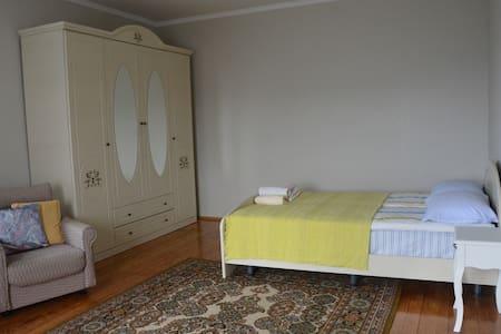 Трёхместная спальня в гостевом доме Изумрудный