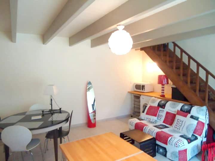 Maison d'une chambre à Saint-Jacut-de-la-Mer, avec jardin clos et WiFi - à 30 m de la plage