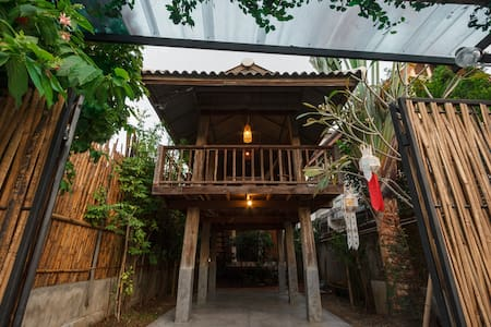 Traditional Wooden House & Rice Barn@ Old Town