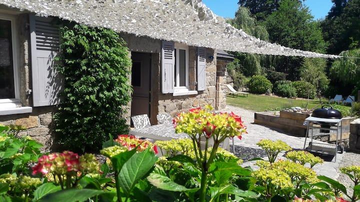 Ty Zen maison en pierre 500M mer et GR34/WIFI