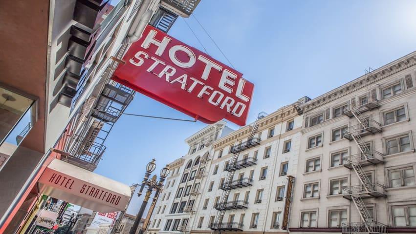 Stratford Hotel Room Full