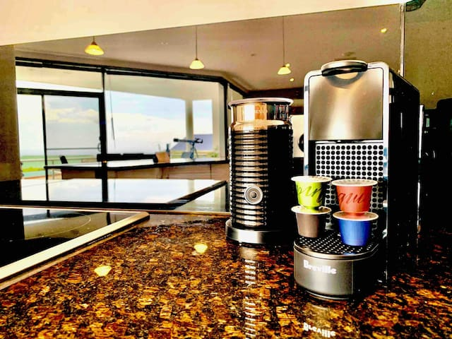 We Provide as Complimentary a Variety of Different Types and Flavours of our Favourite Nespresso