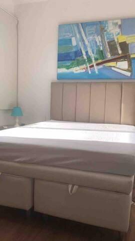 Cama do quarto de baixo