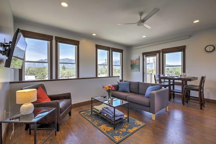 Modern Loft w/Mtn Views - By Downtown Buena Vista!