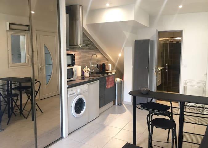 Studio avec terrasse dans du neuf - Marseille - Rumah