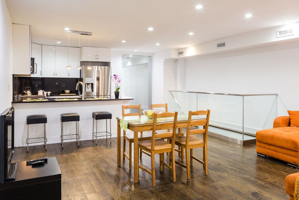 Luxury new private duplex in trendy bed stuy apartments for rent in brooklyn new york united for 4 bedroom apartments in brooklyn
