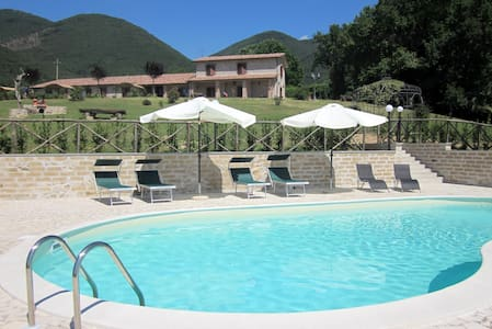 Cozy Apartments near Rome with pool - Casperia