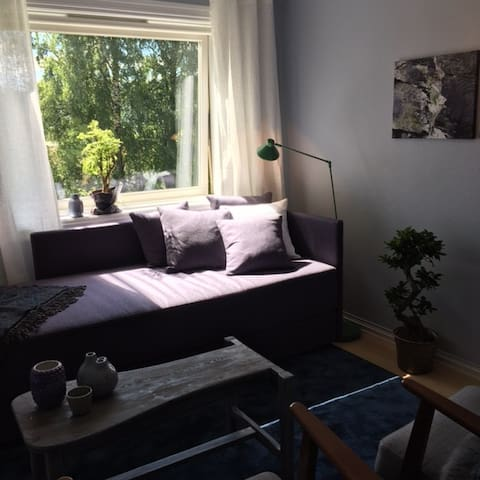 Relaxing and peaceful room - near subway and buses - Bærum - Квартира