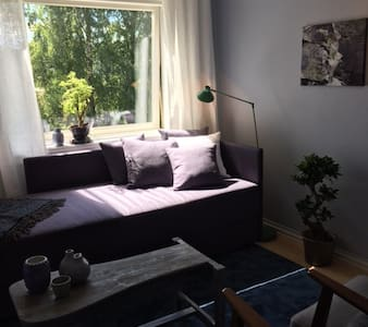 Relaxing and peaceful room - near subway and buses - Bærum - Leilighet