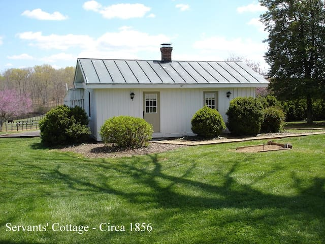 Servants Cottage - Wolftrap Farm (Horse neighbors)
