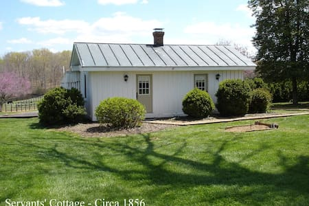Servants' Cottage on Huge Farm - Gordonsville - Kabin