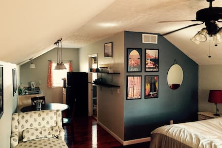 Lovely studio apartment in historic Knoxville - Knoxville